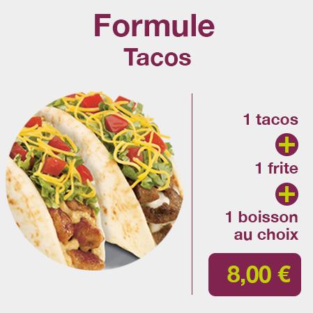 formule tacos